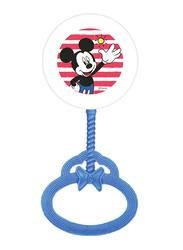 Disney Hand Development Rattle Bells Toys for Baby Boys, Newborn Infant, Mickey Mouse, Blue
