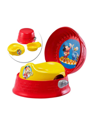 The First Years Mickey Mouse 3 in 1 Potty System, Red/Yellow