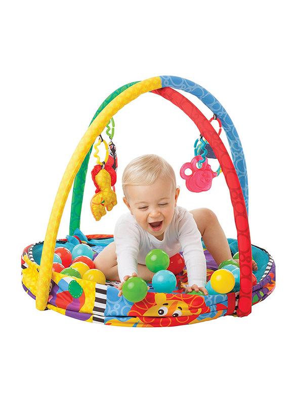 Playgro Ball Playnest Activity Gym, Multicolour
