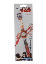 Lucas Star Wars Digital Watch for Boys, with, One Size, Multicolor