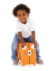 Trunki Tipu Tiger Suitcase, Orange