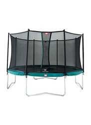Berg Favorit 14 Feet Trampoline with Safety Net Comfort, 430cm, Ages 6+