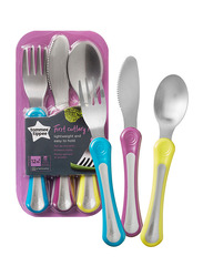 Tommee Tippee First Grown Up Cutlery Set Unisex, Silver