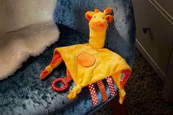 Tommee Tippee Soft Comforter Unisex, Gerry Giraffe, Yellow