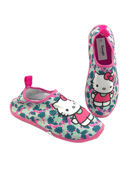Sanrio Hello Kitty Themed Slip-On Sneakers for Girls, 26 EU, Fuchsia