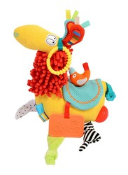 Dolce Llama Squeek And Crinkle Stuffed Toy, Multicolour