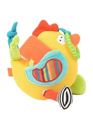 Dolce Chicken Teether & Pull Legs Toy, Multicolour