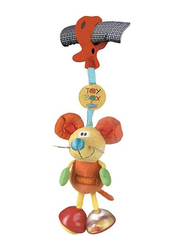 Playgro Toy Box Dingly Dangly Mimsy Toy, Multicolour