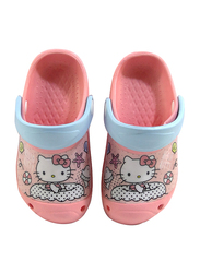 Sanrio Hello Kitty Crocs for Girls, 27 EU, Light Pink