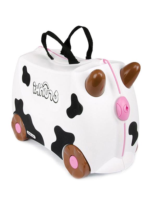 Trunki Frieda the Cow Suitcase, White