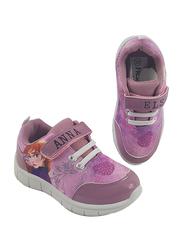 Disney Frozen II Anna & Elsa Sneakers for Girls, 26 EU, Pink