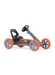 Berg Reppy Racer Pedal Go Kart, Grey/Orange/Black, Ages 2+