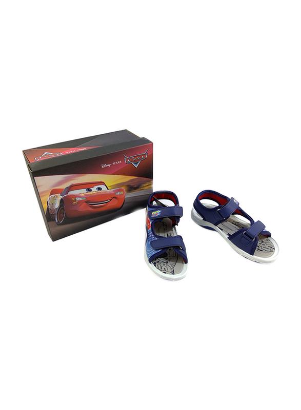 Disney Cars Lightning McQueen Sandals for Boys, 30 EU, Dark Blue