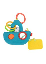 Dolce Tug Boat Rattle Toy, Multicolour