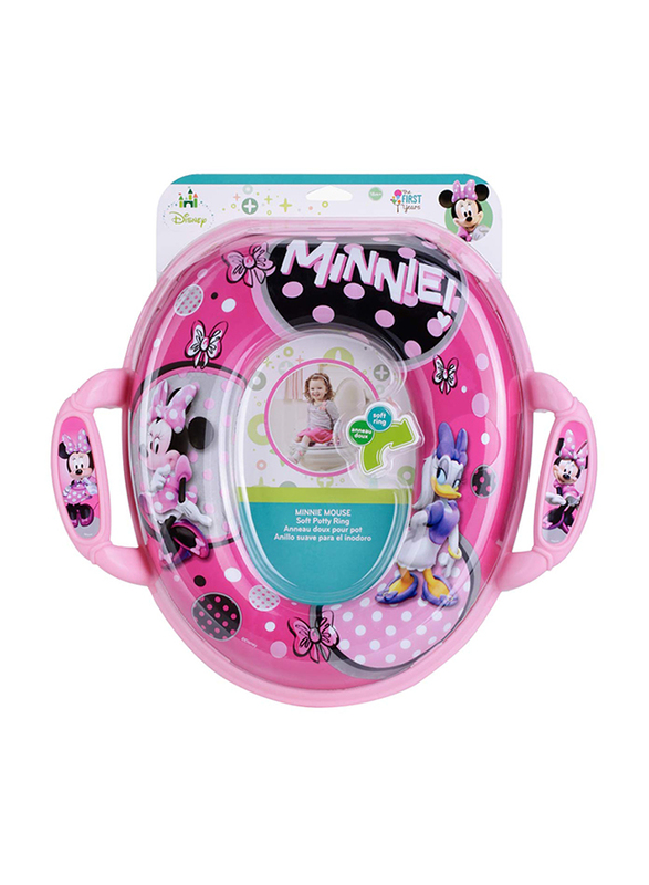 The First Years Minnie Mouse Potty Ring, Pink
