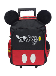 Disney Micky Mouse Hold Mickey 16-Inch Trolly Bag for Boys, Red