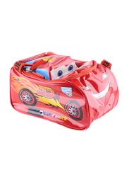 Disney Pixar Lightning McQueen 3D Lunch Bag/ Tote Box for Boys, Red