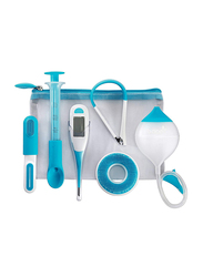 Boon 6 Pieces Health Care & Grooming Kit, Blue/White
