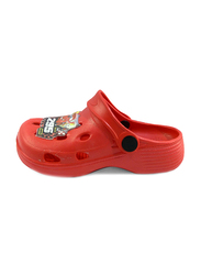 Crocs Disney Cars Lightning McQueen Themed Clogs for Boys, 28/29 EU, Red