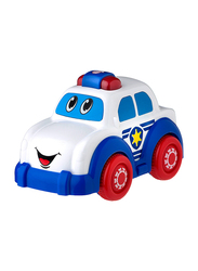 Playgro Light and Sound Police Car, Ages 1+, Multicolour