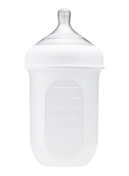 Boon Nursh Silicone Bottle, 3 & Above Months, 236ml, Clear
