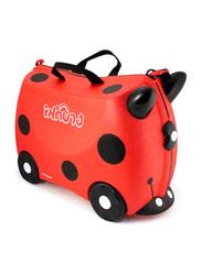 Trunki Harley Ladybug Suitcase, Red