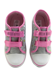 Sanrio Hello Kitty Sneakers for Girls, 27 EU, Light Grey