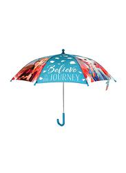 Disney 16-inch Frozen 2 Manual Umbrella for Girls, Multicolor