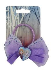 Disney Frozen II Hair Elastic for Girls, Purple