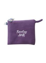 Disney Frozen Printed Throw & Convertible Pillow Set, 2 Pieces, Purple