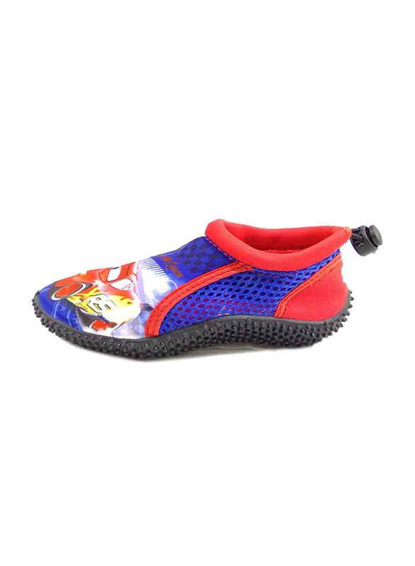 Disney Cars Lightning McQueen Slip-On Sneakers for Boys, 35 EU, Cobalt Blue