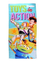 Disney Toy Story Beach Bath Towel for Boys, 70 x 140cm, Multicolour