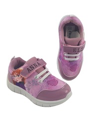 Disney Frozen II Anna & Elsa Sneakers for Girls, 28 EU, Pink