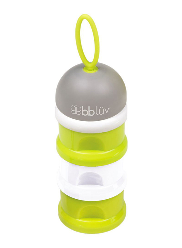 BBLuv Dose Multipurpose Stackable Container, Green/White