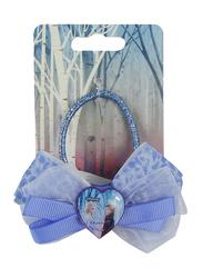 Disney Frozen II Hair Elastic for Girls, Blue