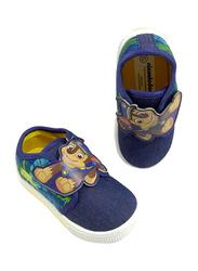 Nickelodeon Paw Patrol Chase Slip-On Sneakers for Boys, 24 EU, Dark Blue