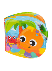 Playgro Splashing Fun Friends Bath Book for Kids, Blue/Yellow/Green/Red/Orange