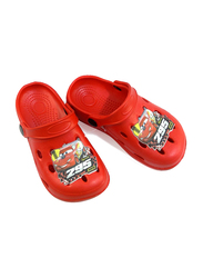 Crocs Disney Cars Lightning McQueen Themed Clogs for Boys, 30/31 EU, Red