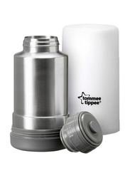Tommee Tippee Closer to Nature Travel Bottle and Food Warmer, Grey