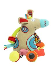 Dolce Cow First Farm Friend Interactive Stuffed Plush Toy, Multicolour