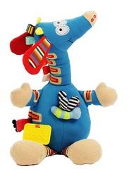 Dolce Musical Giraffe Interactive Stuffed Animal Plush Toy, Multicolour