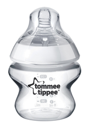 Tommee Tippee Closer to Nature Feeding Bottle Unisex, 150ml, Clear