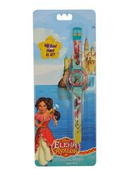 Disney Elena Digital Watch for Girls, 3+ Years, One Size, Pink