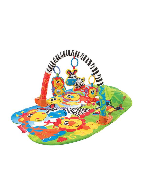 Playgro 3 in 1 Safari Gym, Multicolour