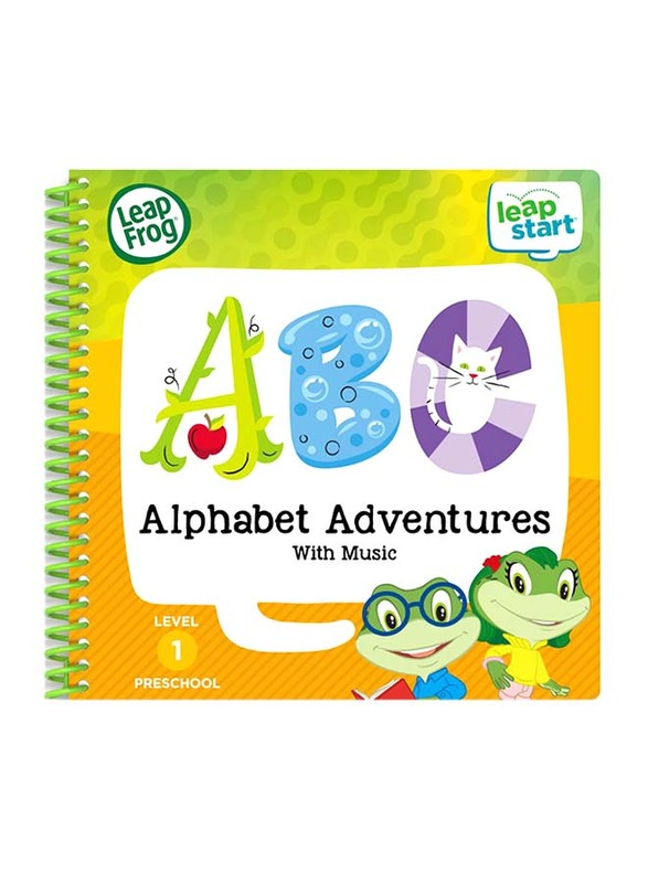 Leap Frog Preschool Alphabet Adventures & Music, Ages 2+
