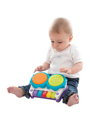 Playgro 2 in 1 Light Up Music Maker, Ages 1+, Multicolour