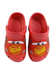 Disney Cars Crocs for Boys, 32 EU, Red