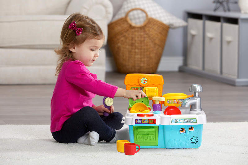 Leap Frog Scrub & Play Smart Sink Toy, Ages 2+