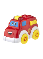 Playgro Lights & Sounds Fire Truck, Ages 1+, Multicolour