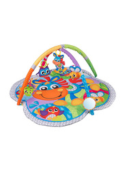 Playgro Clip Clop Activity Gym with Music, Multicolour
